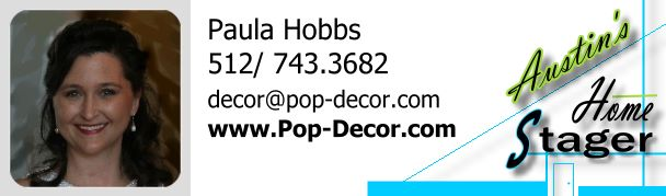 Interior Decorator and Home Stager of Austin TX